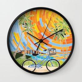 FL Keys Bicycle Wall Clock
