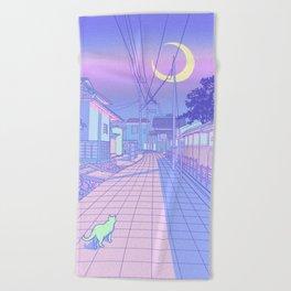 Kyoto Nights Beach Towel