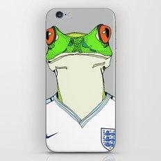 Football Frog iPhone & iPod Skin