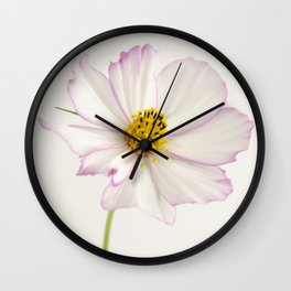 Sensation Cosmos White and Pink Wall Clock