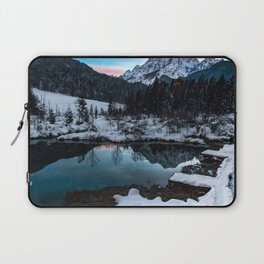 Zelenci springs at dusk Laptop Sleeve