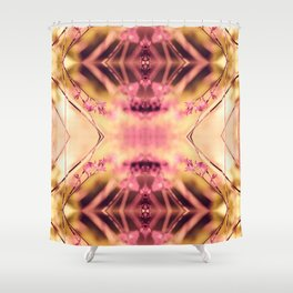 PINK SPANGLES no9-R2 Shower Curtain