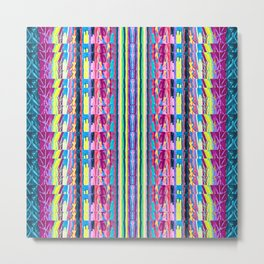 Ribbon Metal Print