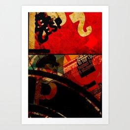 _ilcanarinorosso Art Print