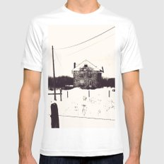 The House Mens Fitted Tee MEDIUM White