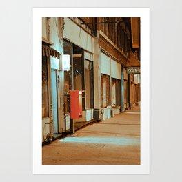 Main Street in Missouri Art Print