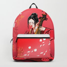 Sound of silence before the war Backpack