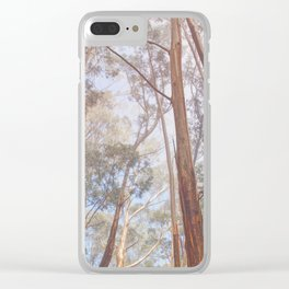 Eucalyptus Forest Clear iPhone Case