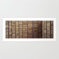 tunnelwall Art Print