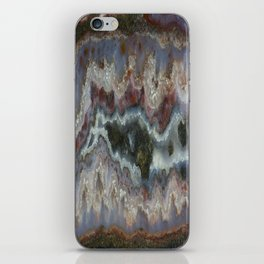 Cady Mountain Banded Agate iPhone Skin