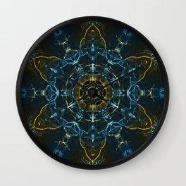 Journey to the Inner Self Mandala Wall Clock