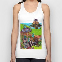 monkey island Tank Tops featuring Monkey Island by Charlie L'amour