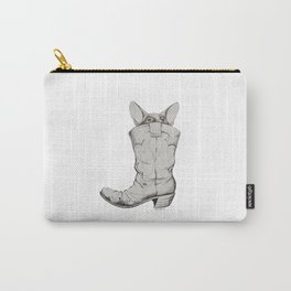 In Boots Carry-All Pouch