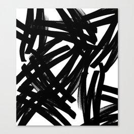 Drunk Zebra Canvas Print