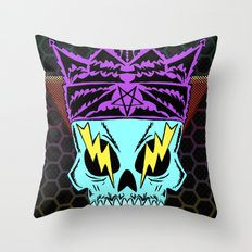 King Demon Throw Pillow