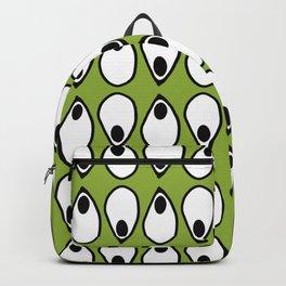 Green Dive- plongeon vers -eyes5 Backpack