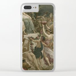 The Party Clear iPhone Case