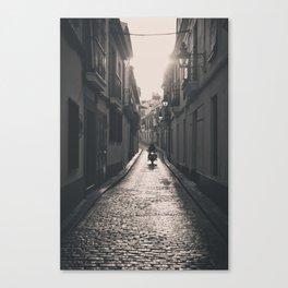 Alley Way Rides Canvas Print