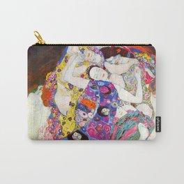 """Gustav Klimt """"Die Jungfrauen (The Virgins)"""" Carry-All Pouch"""