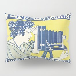 Ivens & Co Lithograph (Camera Advertisement) Pillow Sham