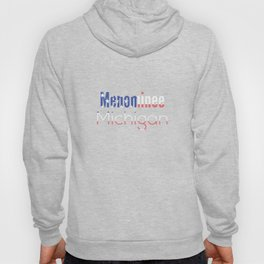 Menominee Michigan Hoody