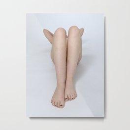 2197-PDJ Legs of a Nude Woman Tasteful Art Metal Print