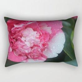 Camellia Raindrops Rectangular Pillow