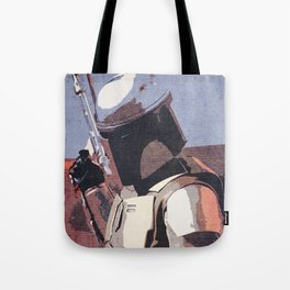 Bobba Fett | The Bounty Hunter | Star War Art Tote Bag