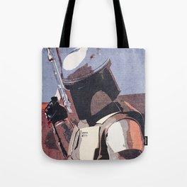 Bobba Fett | The Bounty Hunter | Star War Art Tote Bag