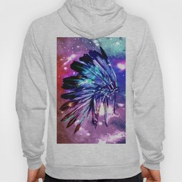 galaxy space headdress Hoody