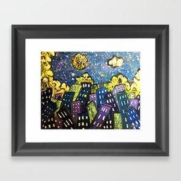 City 11 Framed Art Print