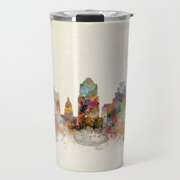 austin texas skyline Travel Mug