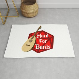 Hard For Bards - Dungeons & Dragons Rug