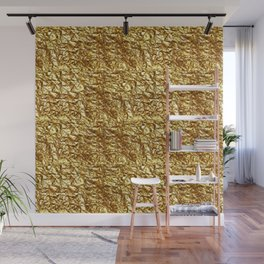 GOLD METAL TEXTURE solid color  Wall Mural