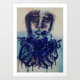 Will You Love Me? Art Print