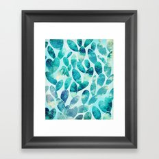 Watercolor Cactus v2 #society6 #decor #buyart Framed Art Print