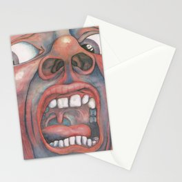 In the Court of the Crimson King Expanded Edition by King Crimson Stationery Cards
