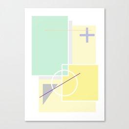 Geometric Calendar - Day 39 Canvas Print