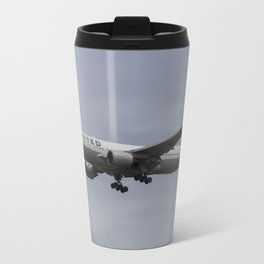 United airlines Boeing 777 Travel Mug