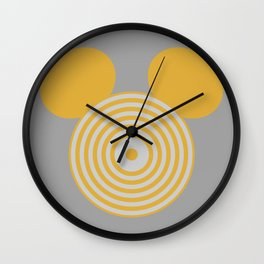 Grid Mouse 1.0 (Clu Variant) Wall Clock
