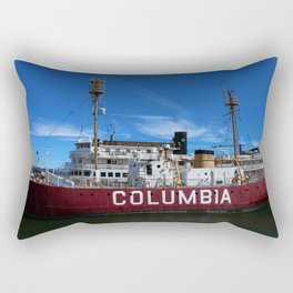 Fireship Columbia Rectangular Pillow