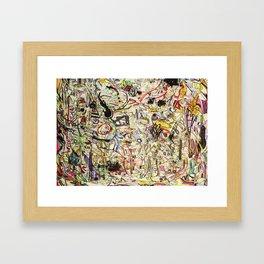 No Ceilings Framed Art Print