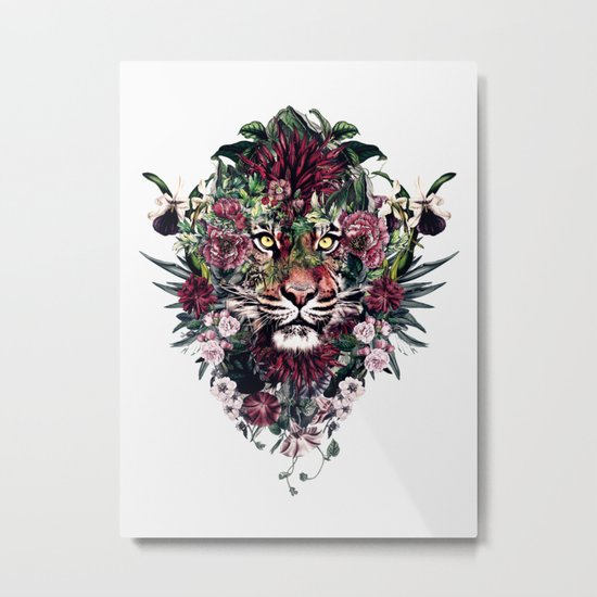 Tiger III Metal Print