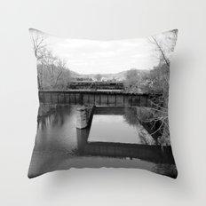 Absent Throw Pillow