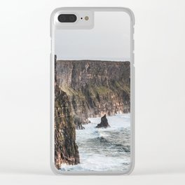 Travel to Ireland: Cliffs of Moher Clear iPhone Case