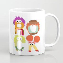 "A Fraggle ""ROCK"" Coffee Mug"