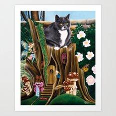 Mozzey Art Print
