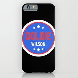 Goldie Wilson iPhone Case