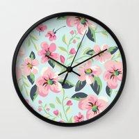 fancy Wall Clocks featuring Fancy. by Scarlais