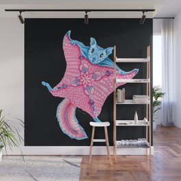 Flying Squirrel Totem Wall Mural